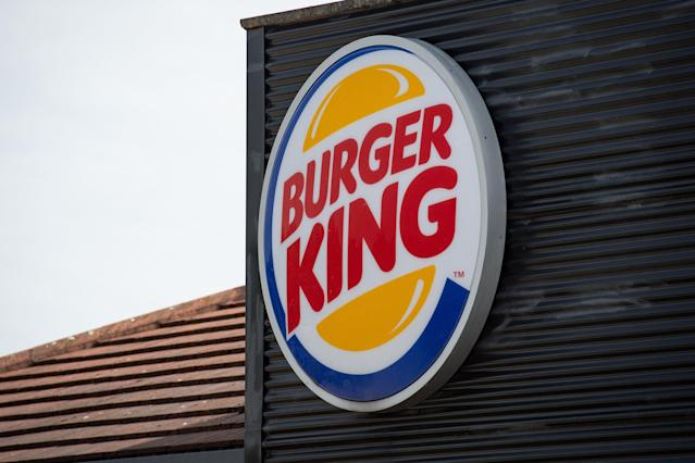 Burger King has not advertised its Rebel Whopper as a vegan product. (PA)