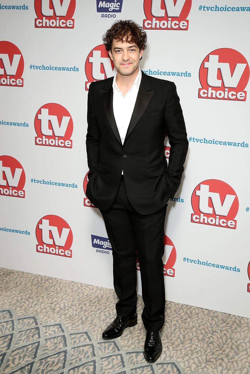 Lee Mead arrives for the TV Choice Awards at The Dorchester on September 4, 2017 in London, England.  (Photo by Mike Marsland/Mike Marsland/WireImage)
