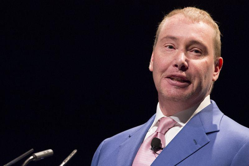 Jeffrey Gundlach, chief executive and chief investment officer of DoubleLine Capital, speaks during the Sohn Investment Conference in New York