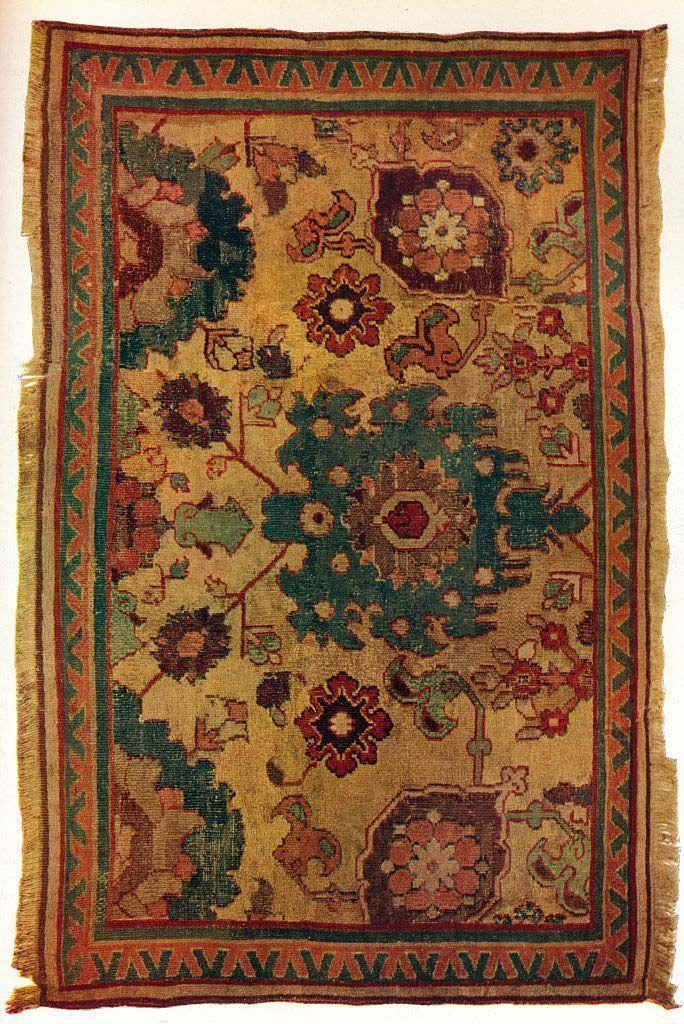 """<p>Handwoven Persian rugs appreciate a lot over the years—although it takes a <em>long</em> time for that to happen. That rug your great-grandparent purchased may just be worth something now. Rugs that are more than 100 years old are considered antiques and their price is determined by size, material, knot-density, condition, and design. </p><p><strong>What it's worth: </strong><a href=""""https://www.thesprucecrafts.com/how-much-is-antique-rug-worth-148552"""" rel=""""nofollow noopener"""" target=""""_blank"""" data-ylk=""""slk:Between $1,000 and $1 million"""" class=""""link rapid-noclick-resp"""">Between $1,000 and $1 million</a></p>"""