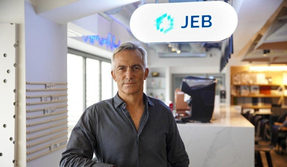 Rob Wall, managing director of JEB Group and Sustainable Office Solutions. Photo: Winson Wong
