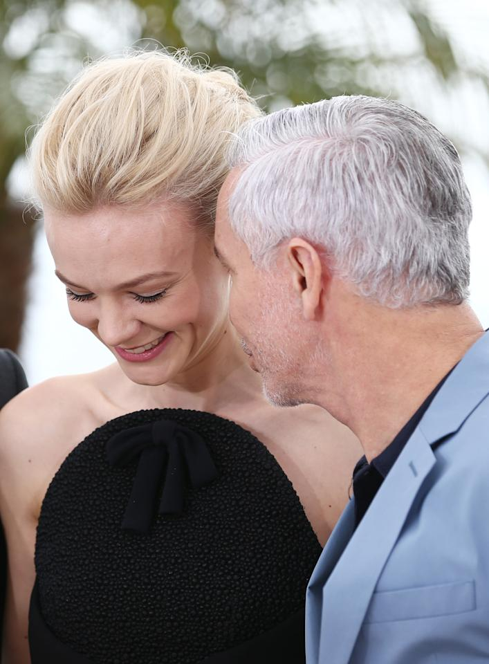 CANNES, FRANCE - MAY 15:  Actress Carey Mulligan and director Baz Luhrmann attend 'The Great Gatsby' photocall during the 66th Annual Cannes Film Festival at the Palais des Festivals on May 15, 2013 in Cannes, France.  (Photo by Andreas Rentz/Getty Images)