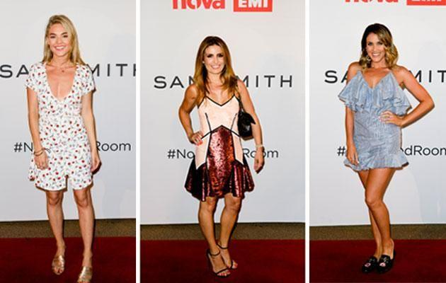 It was a star-studded night at the intimate Nova Red Room. Source: Nova