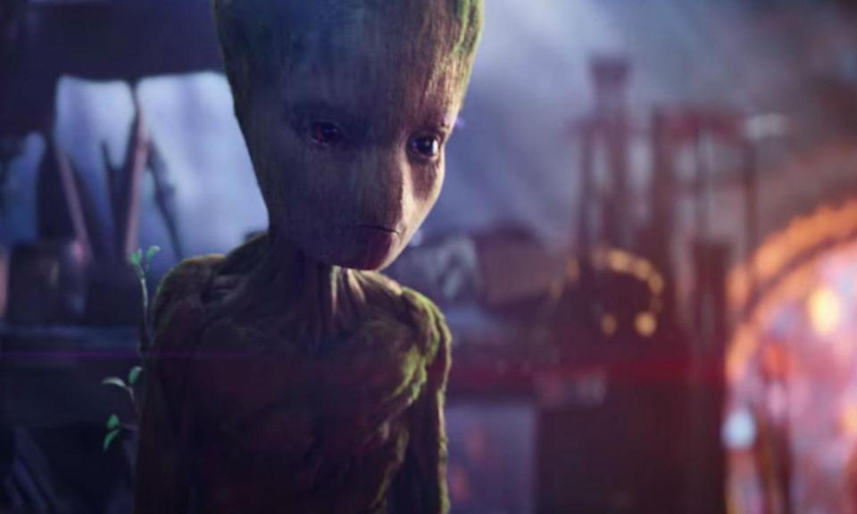 <p><span><strong>Played by:</strong> Vin Diesel (voice)</span><br><span><strong>Last appearance:</strong> </span><i><span>Guardians of the Galaxy Vol. 2</span></i><br><span><strong>What's he up to?</strong> After saving the day by planting the bomb inside Ego's core, baby Groot grew up to be just as an annoying adolescent as Peter Quill. Four years after Yondu's funeral, young Groot is seen playing video games and leaving his room in a mess, earning the ire of his surrogate father.</span> </p>