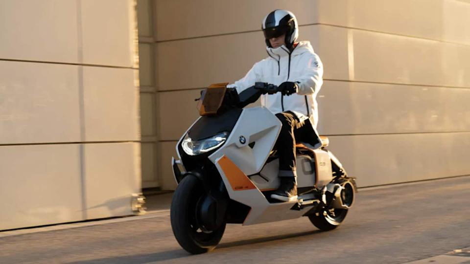 BMW Motorrad Definition CE 04 concept electric scooter revealed