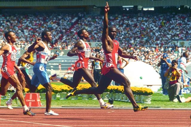 Ben Johnson's stunning performance at the Seoul Olympics was scrubbed from the record books