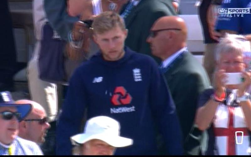 Joe Root - Credit: Sky Sports 2