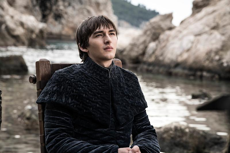 Bran the Broken (Isaac Hempstead Wright) rules over Westeros at the end of 'Game of Thrones' (Photo: Helen Sloan/HBO)