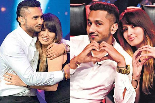 Honey Singh with wife Shalini