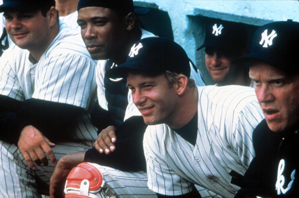 Thomas Jane played Mickey Mantle in the Billy Crystal-directed baseball favorite, '61*' (Photo: HBO/Courtesy Everett Collection)