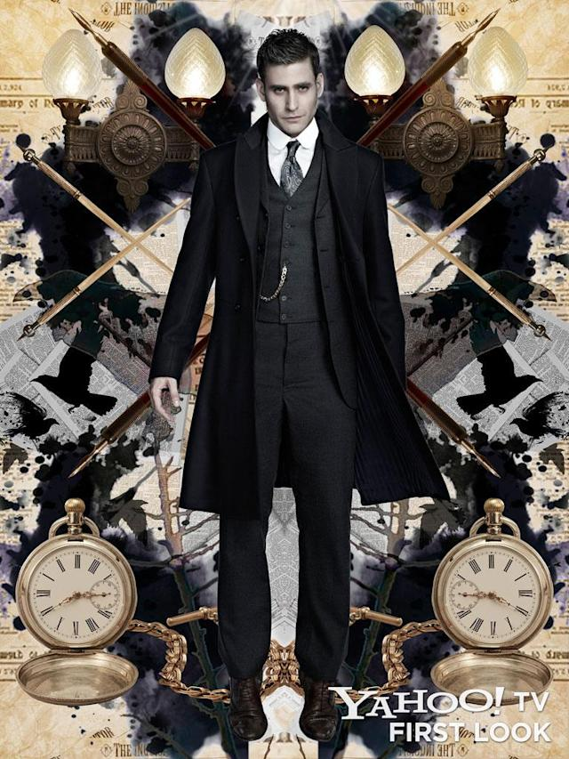 """Oliver Jackson-Cohen as Jonathan Harker in NBC's """"Dracula."""""""