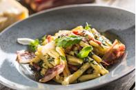 <p>Cassarecce pasta goes with just about any sauce. </p>