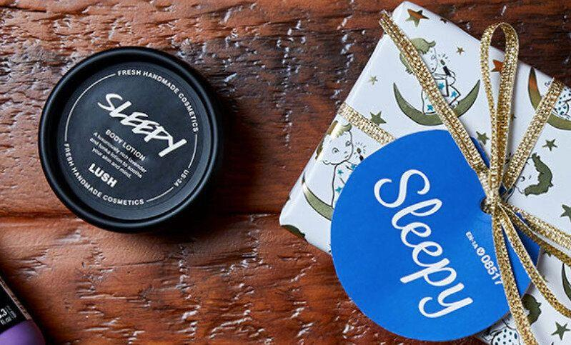 """Everyone talks about getting better sleep. Be the Secret Santa that helps deliver a better night's slumber with this &quot;Sleepy&quot; set from Lush. <a href=""""https://www.lush.ca/en/gifts/christmas-gifts/sleepy/08517.html"""">Get it here.</a>"""