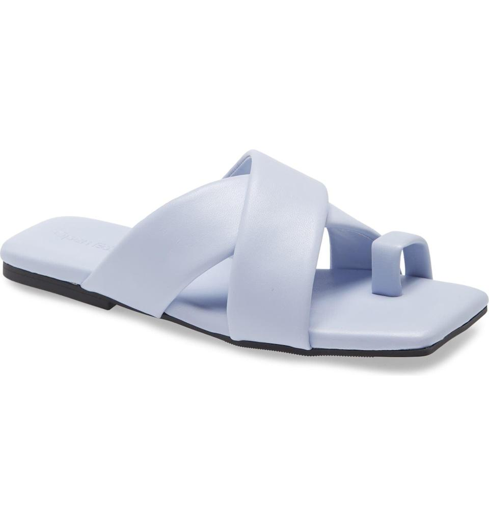 <p>These <span>Open Edit Otto Slide Sandals</span> ($40) look fresh and modern, and they are perfect for everyday wear.</p>