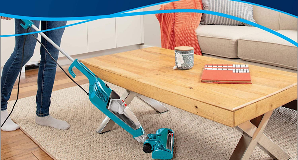 Save 30% on the Bissell Featherweight Turbo Lightweight Stick Vacuum. Image via Amazon.