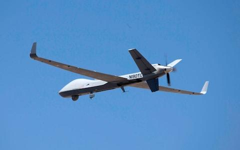 Britain has said it will buy 16 Protector drones and they are due in-service in 2023. - Credit: Wg Cdr J D Eklund/UK MOD Crown Copyright 2019