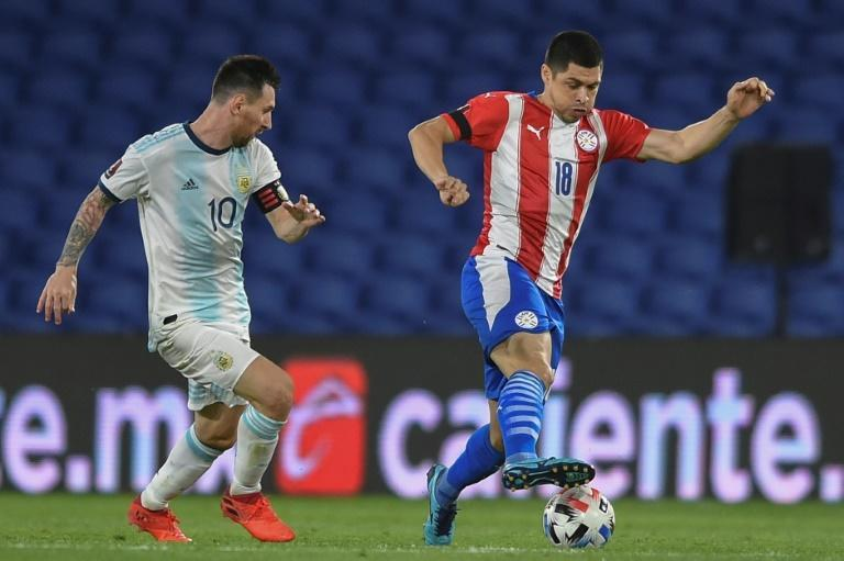 Lionel Messi and Argentina had to settle for a 1-1 draw with Paraguay in a World Cup qualifier in Buenos Aires