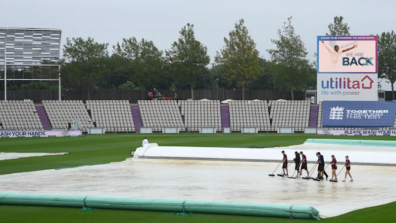 England and Pakistan frustrated by rain in gloomy Southampton