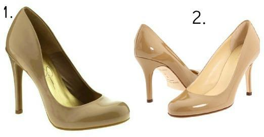 """<div class=""""caption-title"""">Nude Pumps</div>Every woman needs a shoe that goes with just about any outfit -- and this is that shoe. The nude elongates your legs, and it's a non-distracting footwear for more colorful ensembles. (Photo by: Jessica Simpson; Kate Spade)"""