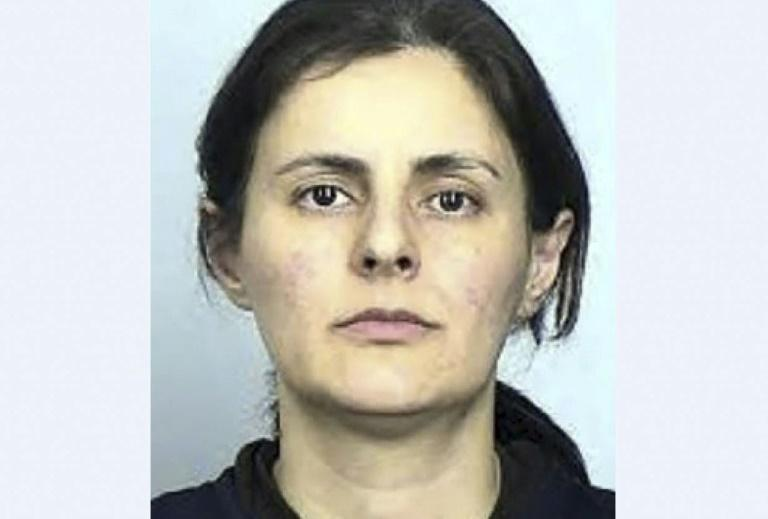 Iranian Negar Ghodskani sentenced in the United States for violating sanctions against Tehran was released last month and returned home (AFP Photo/Lizabeth MENZIES)