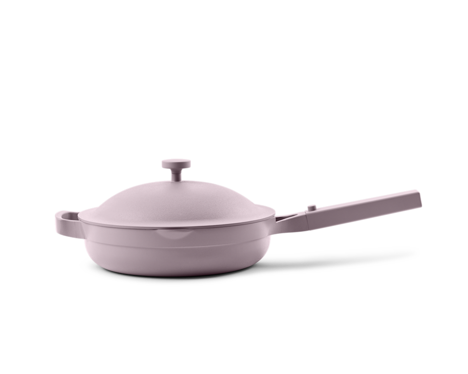 <p>Yes, it's chic, but this best-selling pan is also extremely functional: It can replace 8 traditional pieces of cookware so you can use it to braise, sear, steam, strain, saute, fry, and boil. </p>