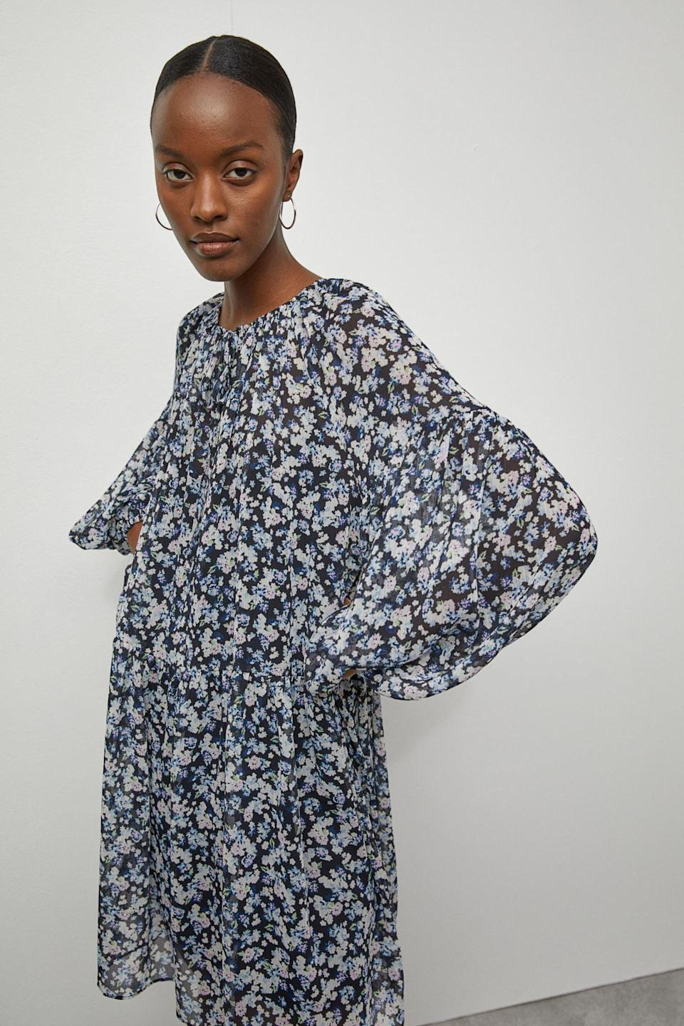 <p>It doesn't get any more effortless than this <span>Chiffon Dress</span> ($30).</p>
