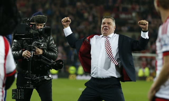 Allardyce defied the odds to keep Sunderland in the Premier League
