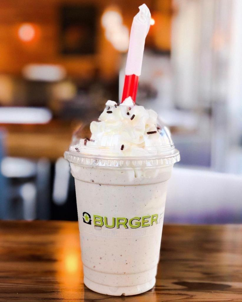 """<p><strong>Official Menu Description: </strong>N/A - <a href=""""https://www.burgerfi.com/"""" rel=""""nofollow noopener"""" target=""""_blank"""" data-ylk=""""slk:BurgerFi"""" class=""""link rapid-noclick-resp"""">BurgerFi</a></p><p><strong>Verdict:</strong> This offering from BurgerFi somehow manages to capture the experience of eating red velvet cake, but in drinkable shake form. While it may not be a groundbreaking flavor option, this shake maintains the acidic and cream cheese flavors synonymous with its cake brethren. Other shakes come in vanilla, chocolate, black + white, strawberry, Oreo and coffee mocha. </p>"""