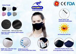DONY masks are suitable for many countries, which is shown from testimonials by our partners in Japan and the US.