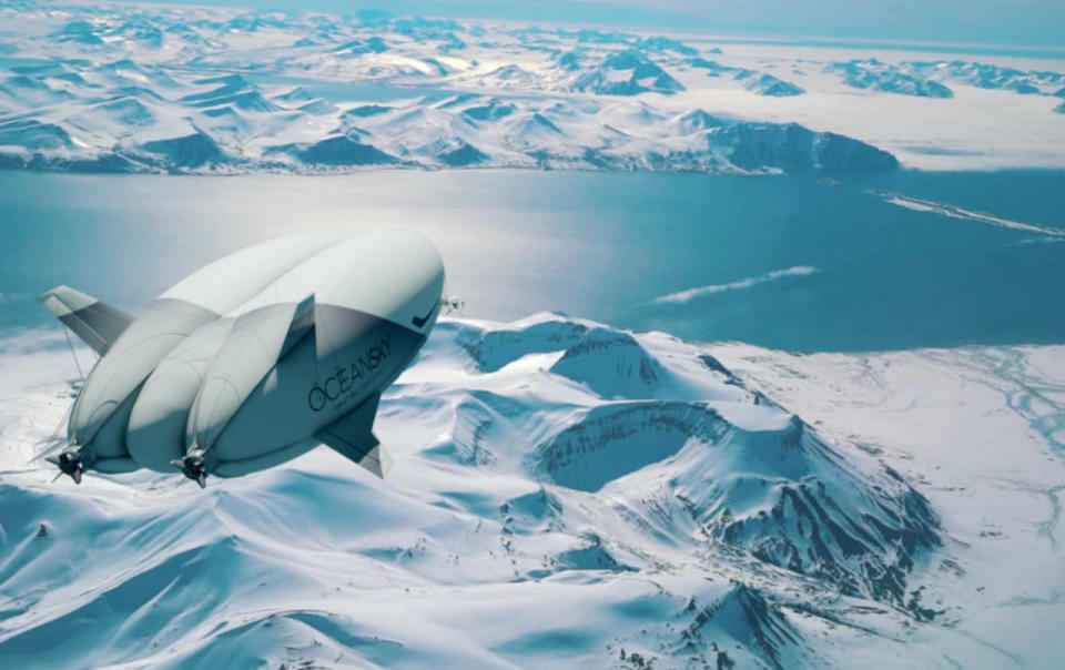 Luxury airship will offer sustainable travel to the North Pole
