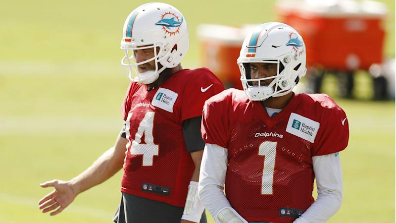 Ryan Fitzpatrick named Dolphins starter ahead of Tua Tagovailoa