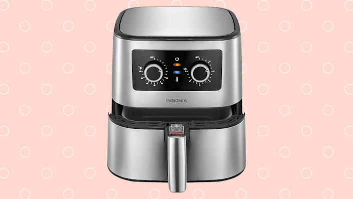 Get this sleek air fryer for nearly half off. (Photo: Best Buy)