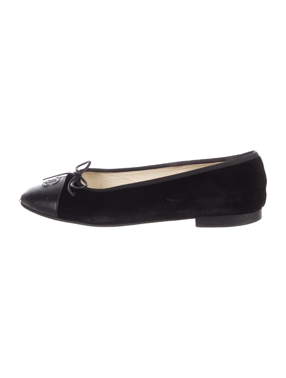 And Chanel ballet flats? What could be more French?