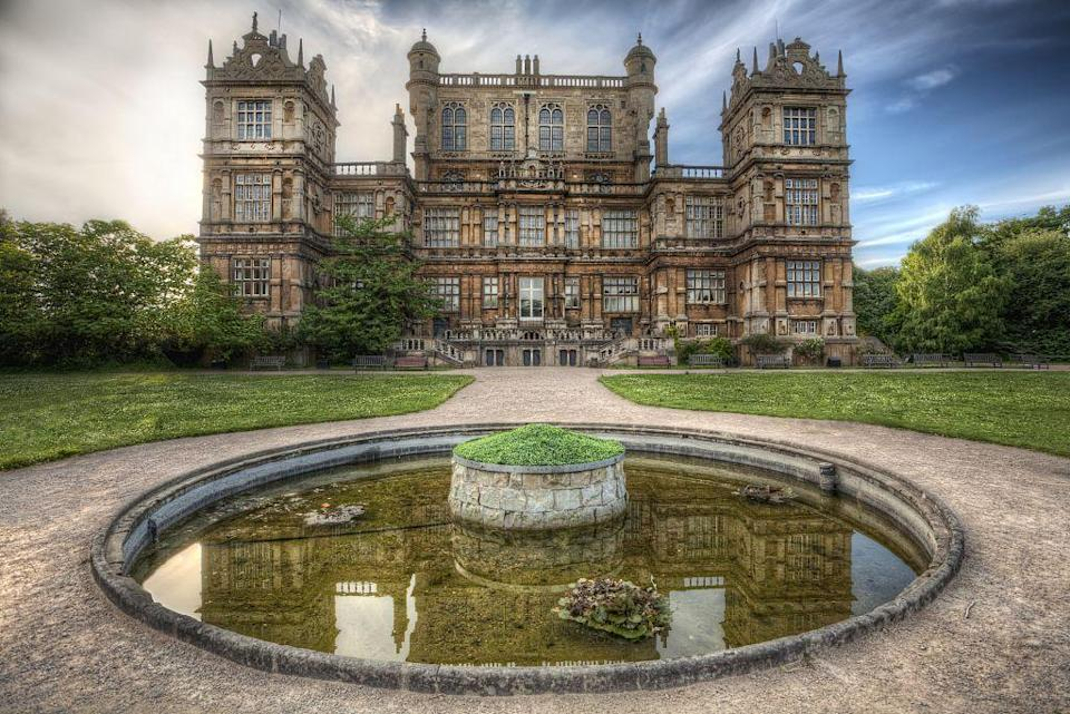 "<p>Don't we all dream of having a massive estate as grand as Wayne Manor? Wollaton Hall in Nottingham, England, serves as Bruce Wayne's mansion in <em>The Dark Knight Rises</em>, and it can easily be visited by Batman fans. It acts as <a href=""https://wollatonhall.org.uk/hall-and-museum/"" rel=""nofollow noopener"" target=""_blank"" data-ylk=""slk:Nottingham's Natural History Museum"" class=""link rapid-noclick-resp"">Nottingham's Natural History Museum</a>, so you can explore all sorts of historic objects and rooms inside.</p><p>Wollaton Hall, Nottingham NG8 2AE, United Kingdom</p>"