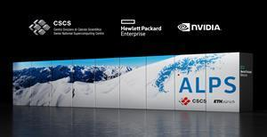 """The Swiss National Supercomputing Centre's """"Alps"""" system infrastructure is expected to be the world's most powerful AI-capable supercomputer when it comes online in 2023."""