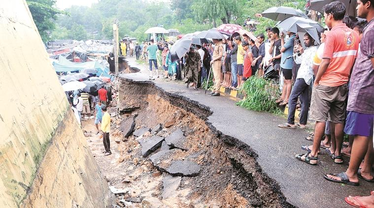 Mumbai news, Malad wall collapse, malad wall collapse victims, Accommodation for Malad wall collapse victims, mumbai rains, Indian Express news