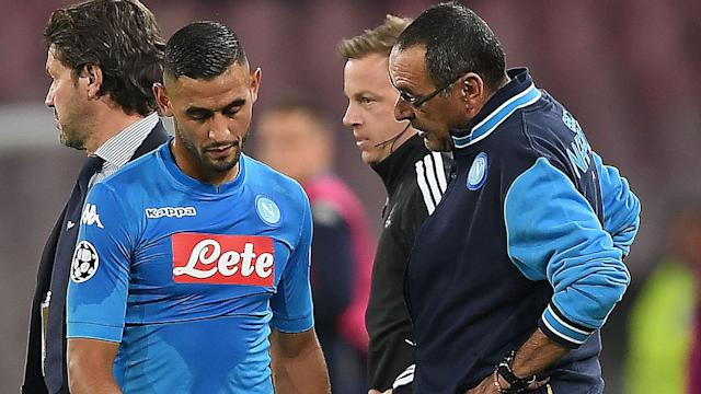 The Algeria international who is currently on the sidelines could return to action before the end of the season