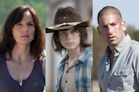 <p>a. Lori<br>b. Carl<br>c. Shane<br><br>(Photo: AMC) </p>