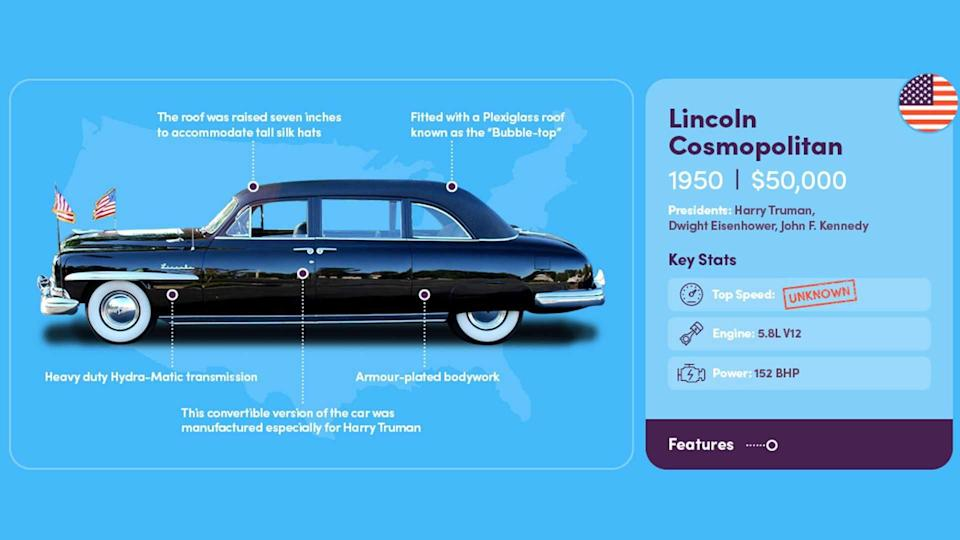Presidential Limo 1950 Lincoln