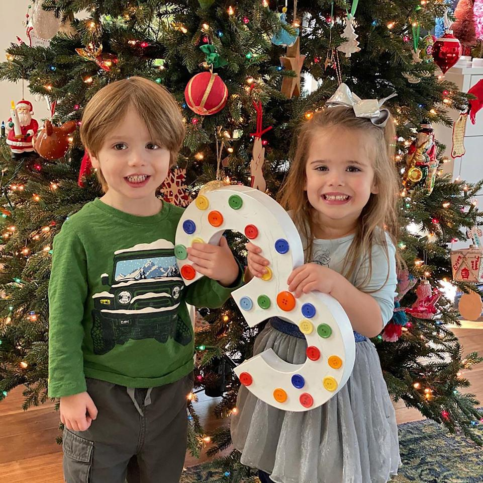 """Jensen and Danneel Harris Ackles' twins <a href=""""https://people.com/parents/jensen-and-danneel-harris-ackles-welcome-twins/"""">Zeppelin Bram and Arrow Rhodes</a> turned 3 on Dec. 2."""