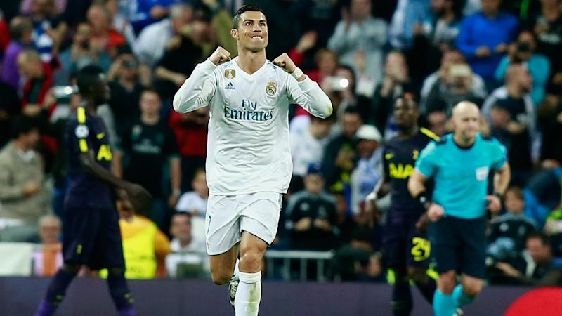 Real Madrid 1 Tottenham 1: Ronaldo on target as Lloris heroics earn point