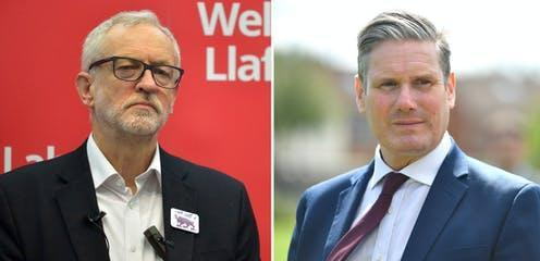 "<span class=""caption"">Former Labour leader Jeremy Corbyn has been suspended from the party, now led by Keir Starmer. </span>"