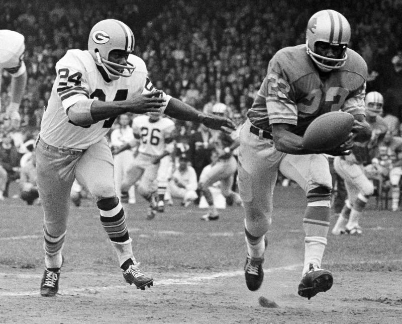 Willie Wood was one of the centerpieces of Vince Lombardi's best teams. (AP Photo/File)