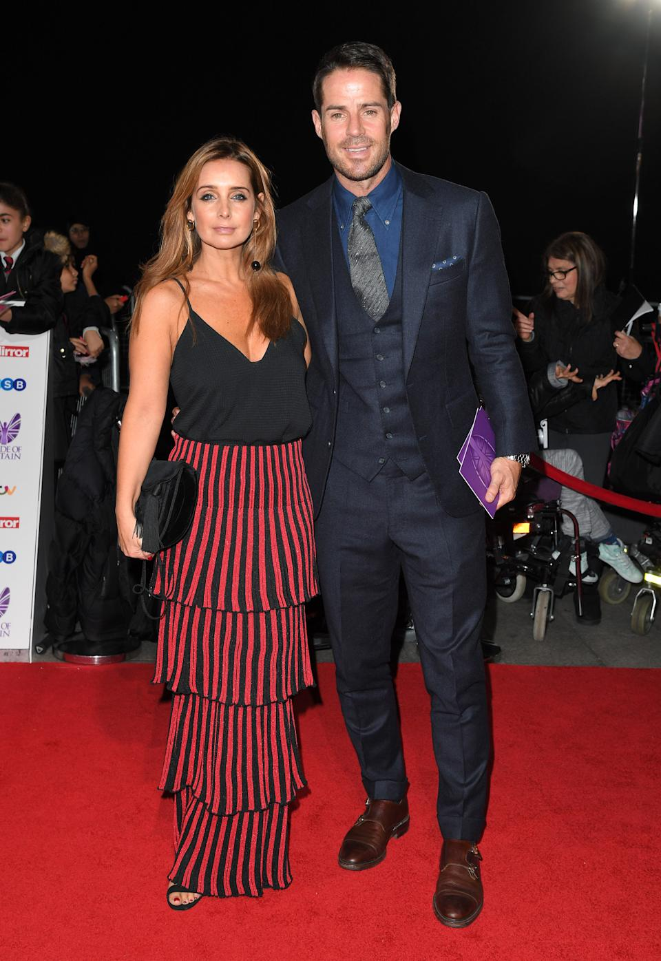 LONDON, ENGLAND - OCTOBER 31:  Louise Redknapp and Jamie Redknapp attend the Pride Of Britain Awards at The Grosvenor House Hotel on October 31, 2016 in London, England.  (Photo by Karwai Tang/WireImage)