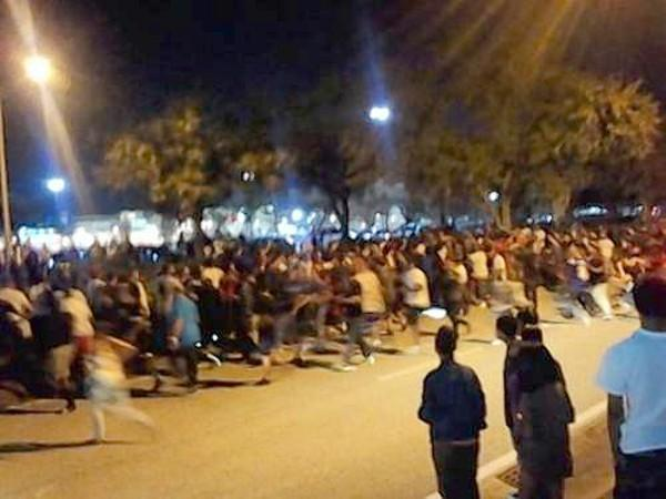 Nike Foamposite Galaxy shoe release causes rioting at a Florida mall 062c51c71