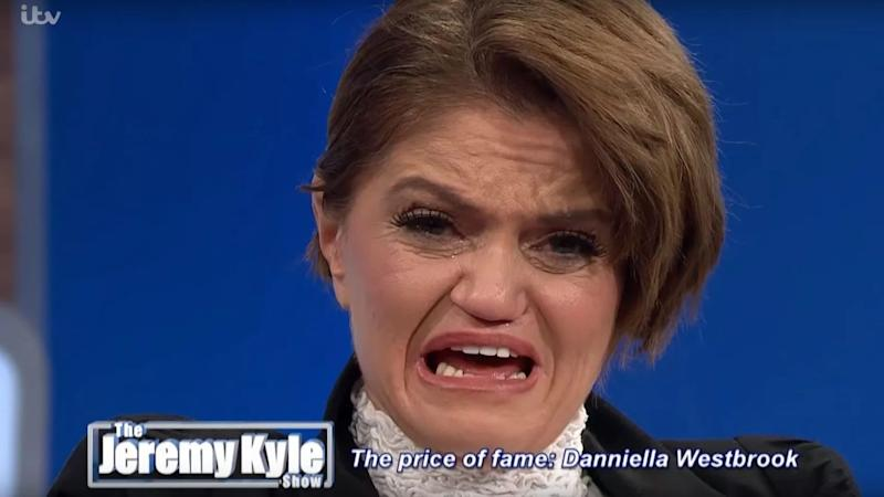 Danniella Westbrook appeared on 'The Jeremy Kyle Show' in 2019 to discuss her cocaine addiction. (Credit: ITV)