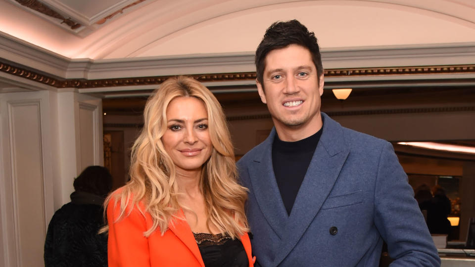 Vernon Kay teamed up with his wife Tess Daly earlier this year to present ITV Saturday night show 'Game of Talents'. (David M. Benett/Getty Images)