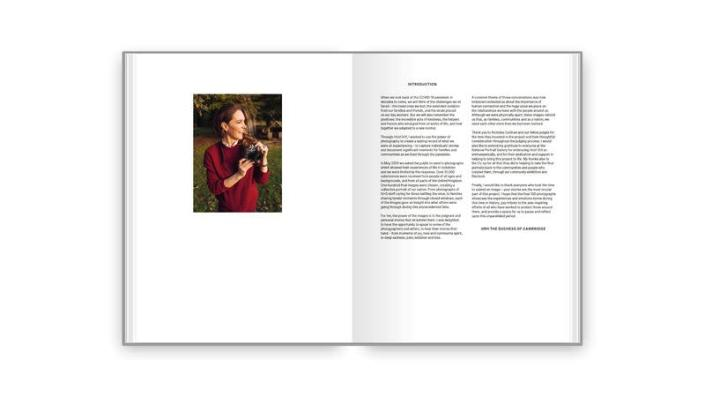 """The introduction of the new book """"Hold Still: A Portrait of Our Nation in 2020"""" is seen in this handout photo released by the Kensington Palace"""