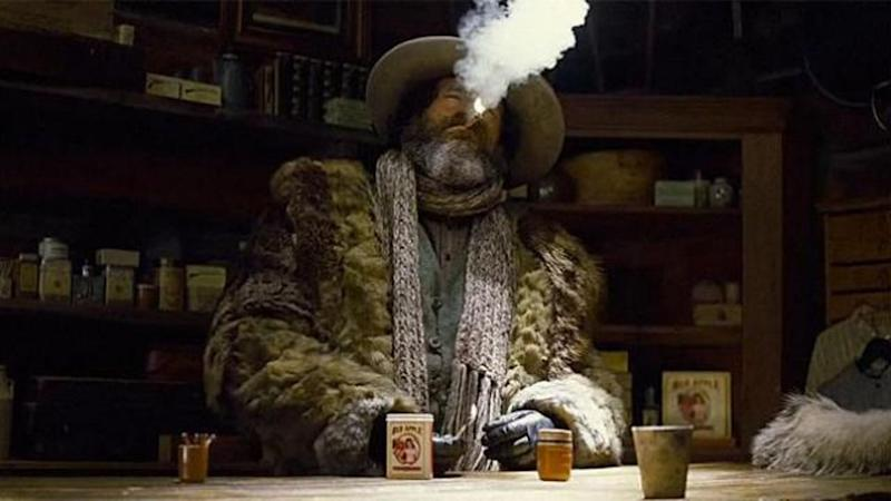 Red Apple Cigarettes are smoked in The Hateful Eight