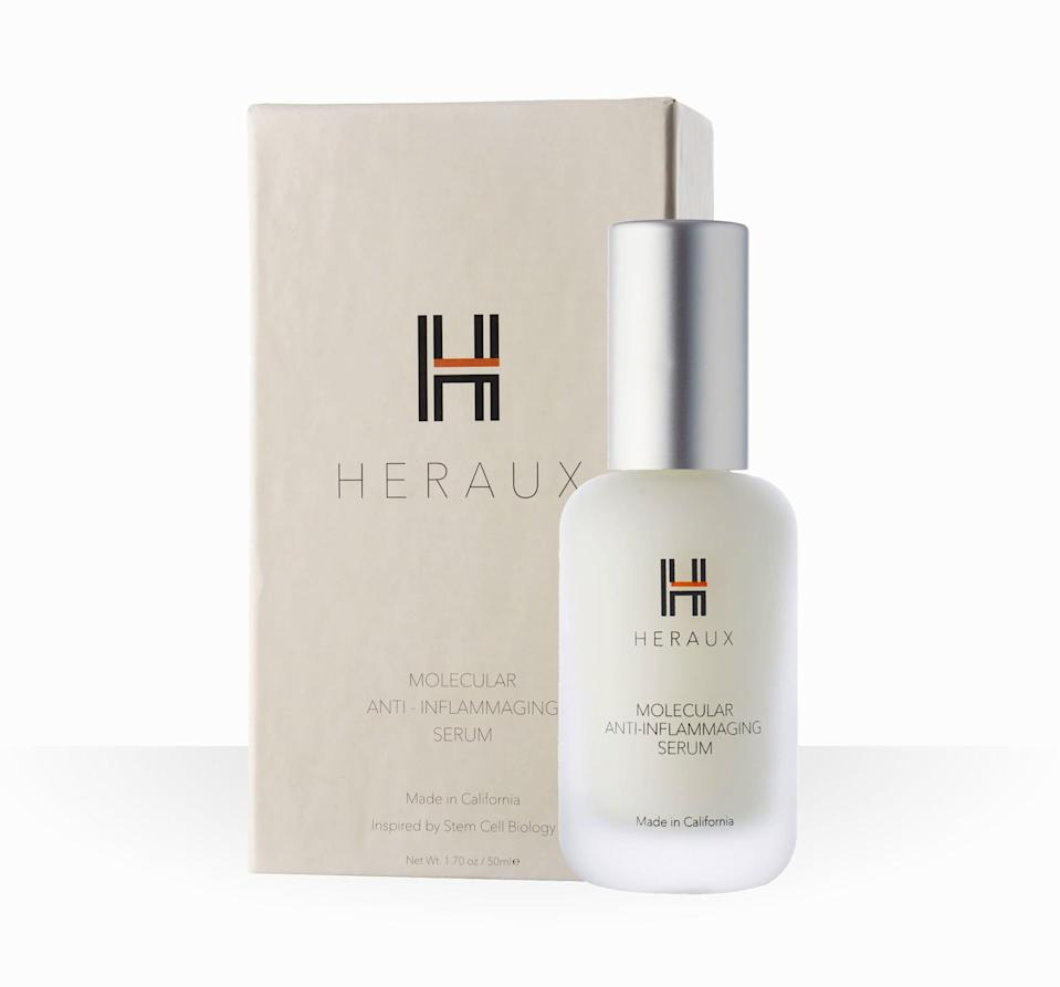 <p>Ben Van Handel, PhD, a stem-cell scientist and inflammaging researcher, cofounded the skin-care brand Heraux, which makes the <span>Molecular Anti-Inflammaging Serum</span> ($250).</p>
